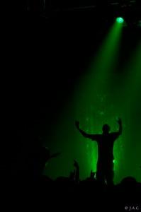 Photo de Meshuggah - Les Métallurgicales - 2012 - © Jessie Chevin