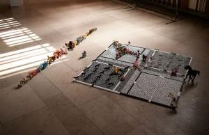 Le Labyrinthe de la Psyché : L'Adolescence V.2 - © Jessie Chevin  (photo et installation)