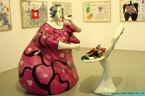 Œuvre de Niki de Saint-Phalle - MAMAC - Nice - 2011 -  © Jessie A. Chevin