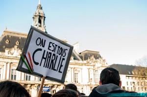 Marche pour Charlie Hebdo - Tours - 11 janvier 2015 © Jessie A. Chevin